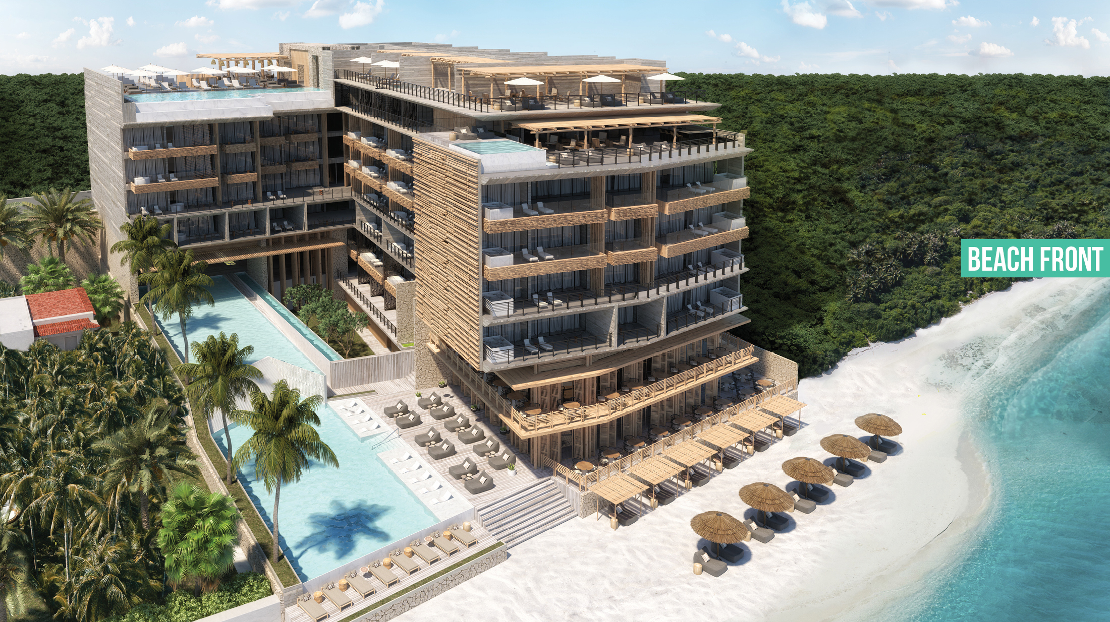 THE FIVES OCEANFRONT – PUERTO MORELOS